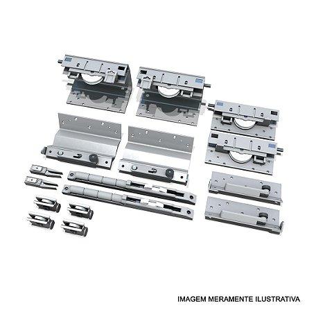 Sistema de Porta de Correr SS 200 Standard para 2 Portas 25 a 50Kg