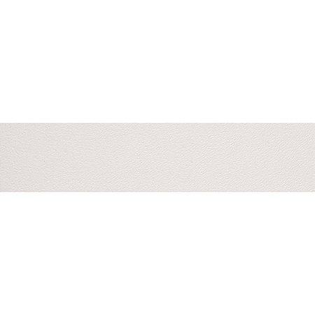 Fita de Borda PVC Branco Ártico Trama 22x0,45mm c/ 50m