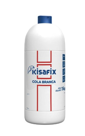 Cola Branca PVA Extra Multiuso Kisafix 1Kg