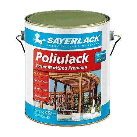 Verniz Poliulack Transparente Acetinado 3,6L