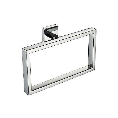 Porta Toalha Argola Eterna Aço Inox 304 Cromado 162mm