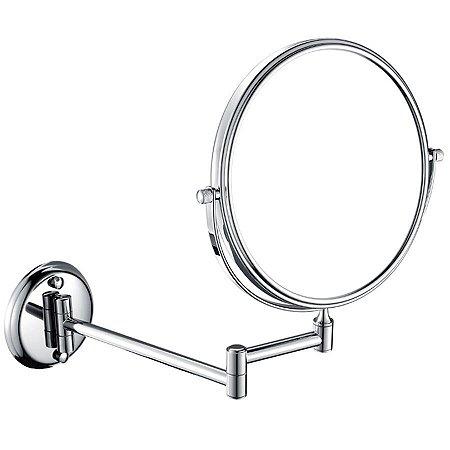 Espelho Flexivel Redondo EF-L6 E6515 Latão Cromado 385mm