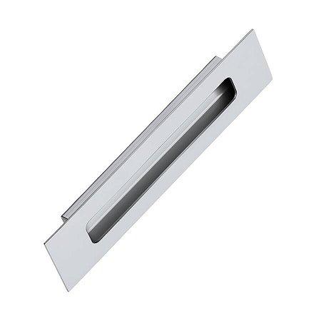 Puxador de Embutir Concha IL-160 Inox Polido 1000mm