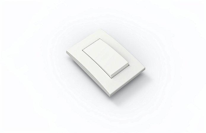 Interruptor Simples Branco 10A
