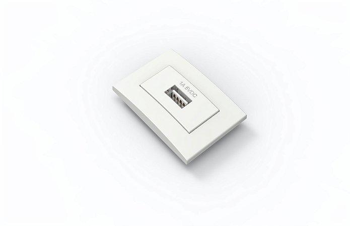 Tomada Branco USB