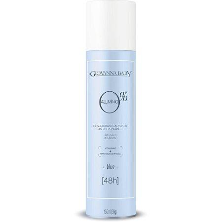 Desodorante Aerossol 0% Alumínio Blue Giovanna Baby 150ml