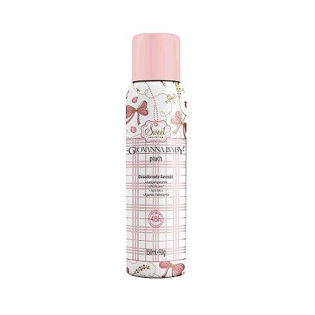 Desodorante Aerossol Peach Giovanna Baby 150ml