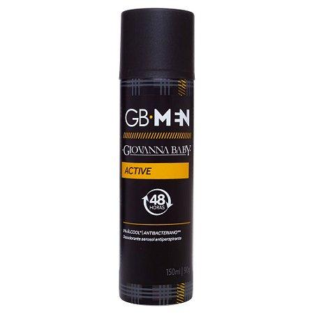 Desodorante Aerossol Men Active Giovanna Baby 150ml