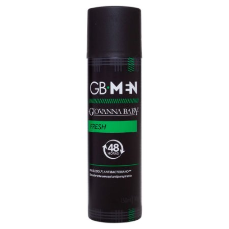 Desodorante Aerossol Men Fresh Giovanna Baby 150ml