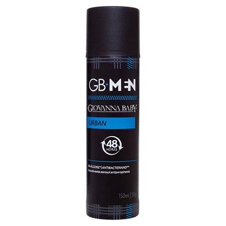 Desodorante Aerossol Men Urban Giovanna Baby 150ml