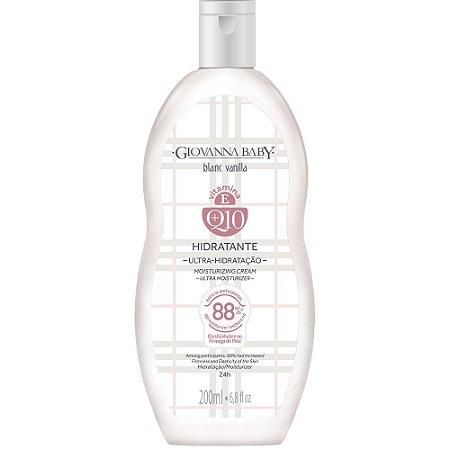 Loção Hidratante Blanc Vanilla Q10 Giovanna Baby 200ml