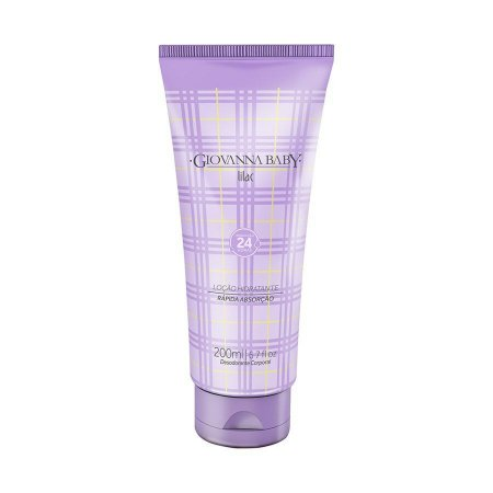 Loção Hidratante Desodorante Lilac Giovanna Baby 200ml