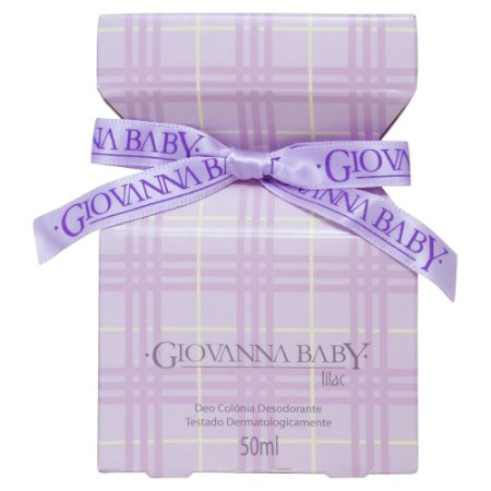 Deo Colônia Lilac Giovanna Baby - 50ml