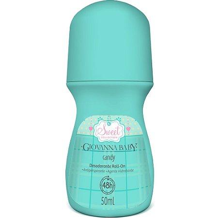 Desodorante Roll On Candy Giovanna Baby 50ml