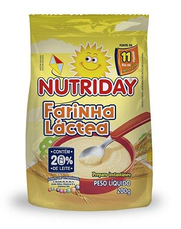 FARINHA LACTEA 200G – NUTRIDAY