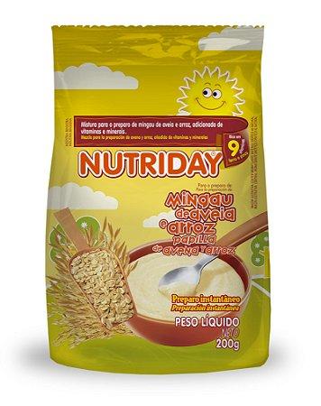 Mingau de Aveia e Arroz – Nutriday