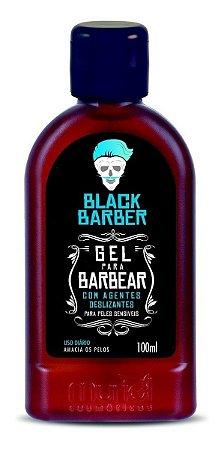 Gel para Barbear Black Barber 100ml