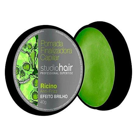 Pomada Finalizadora Studio Hair Rícino 40g