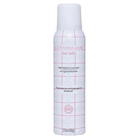 Desodorante Aerossol Blanc Vanilla Giovanna Baby 150ml