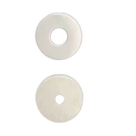 Jogo de Roseta 527 Banheiro - Inox Escovado - 9289B