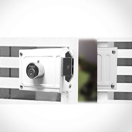 Fechadura Sobrepor - 0348 - caixa com 06 fechaduras