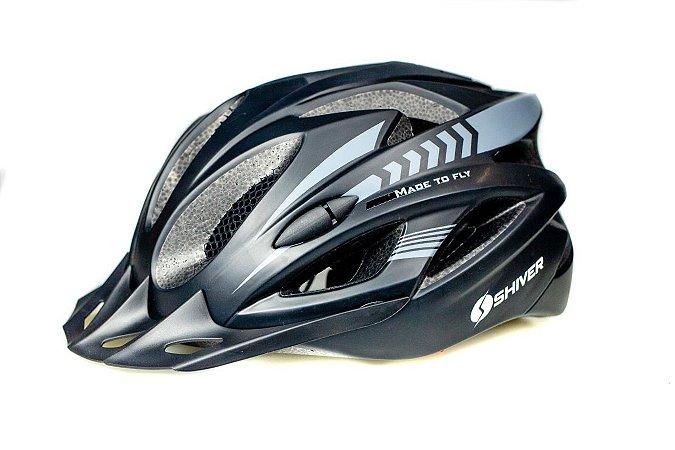 capacete ciclismo mtb com vista light