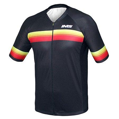 Camisa Bike Ciclista Mtb - IMS Napoli Preta