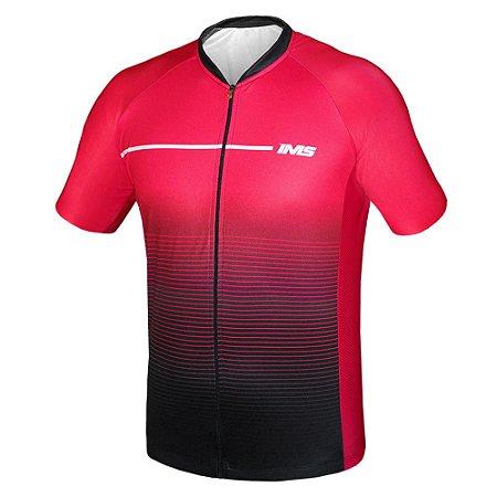 Camisa Bike Ciclista Mtb - IMS Milano vermelho