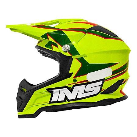 Capacete IMS Army - Motocross, enduro, trilha, bicicross