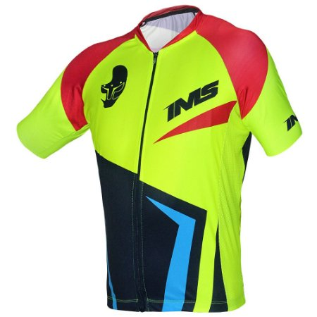 Camisa Bike Ciclista Mtb - IMS Ellite Neon