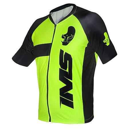 Camisa Bike Ciclista Mtb - IMS Adventure Neon