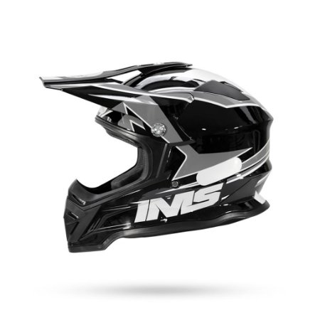 Capacete Motocross/Trilha IMS Army Cinza