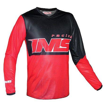 Camisa Off-Road IMS Army Vermelha