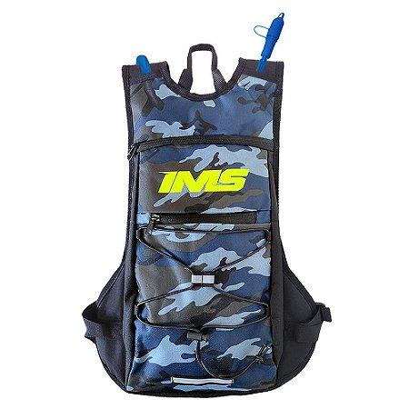 Mochila de Hidratação Térmica IMS Army Camo 2 litros