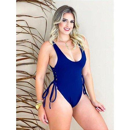 Body/Maiô Amarração Lateral Feminino Praia/Pscina