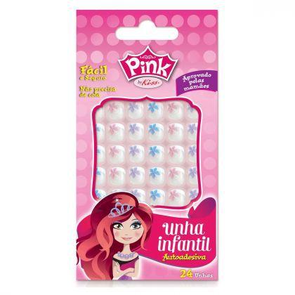 Kiss NY Unha Infantil Pink FPSP03