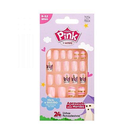 Kiss NY Unha Infantil Pink PBG04