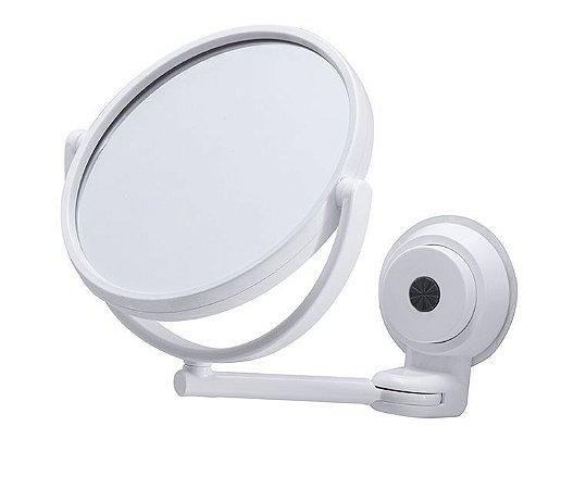 Espelho Ajustável C/ Ventosas Gira 360º Paramount