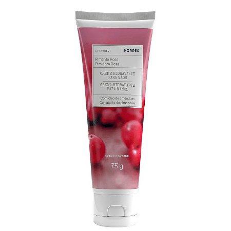 Creme Hidratante para Mãos Korres Pimenta Rosa 75g