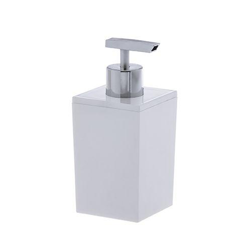 Porta-Sabonete Liquido Quadratta Paramount Branco