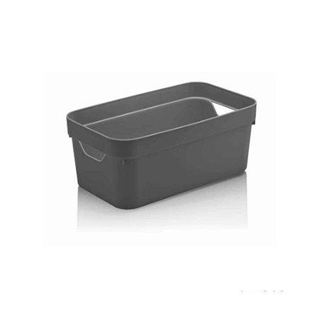 Caixa Organizadora Cube P Cinza da Ou