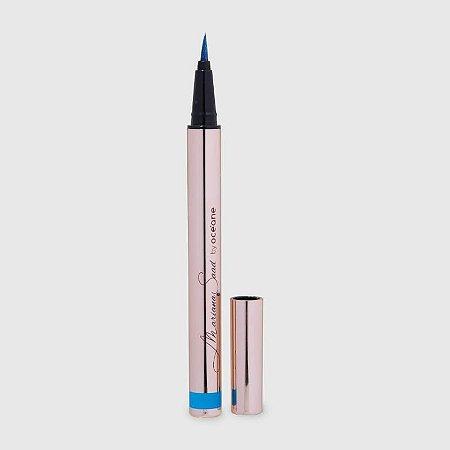 Caneta Delineadora Mariana  Saad Oceane Real Blue 1.8G
