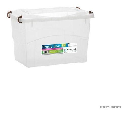 Caixa Organizadora Pratic Box 5 Litros 27x18x17cm