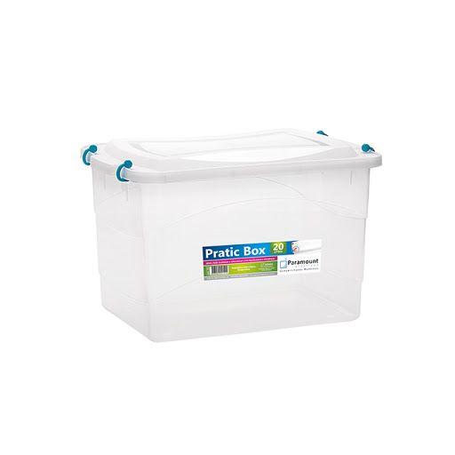 Caixa Organizadora Pratic Box 20 Litros 41x29x25cm