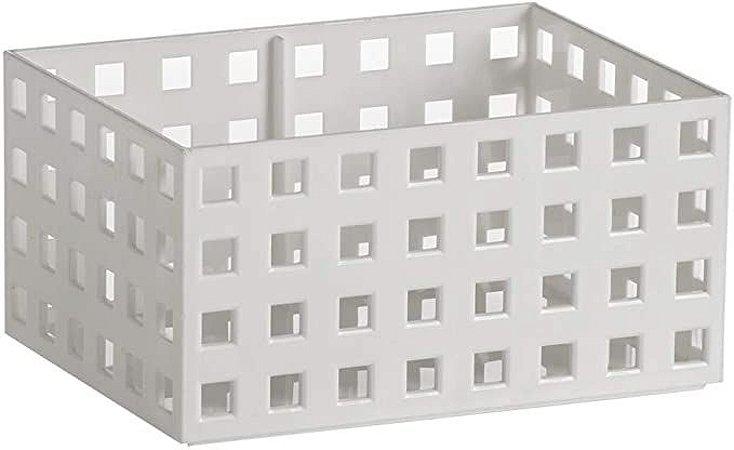 Organizador Empilhavel Quadratta 16x11,5x8cm Branco