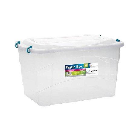 Caixa Organizadora Pratic Box 50 Litros 59x38x34cm