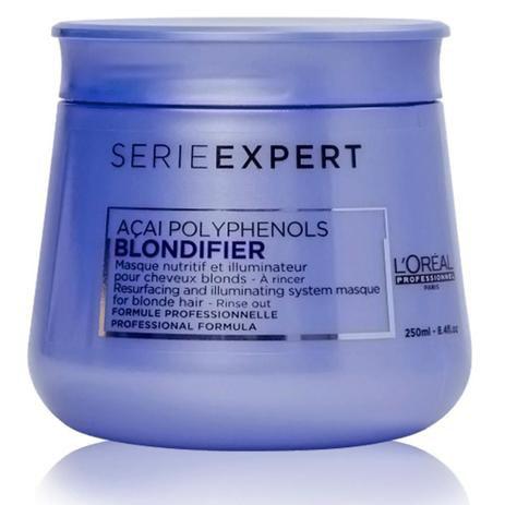Máscara L'oreal Blondfier Gloss Iluminadora 250gr