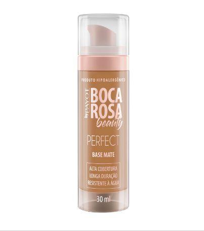 Base Matte Payot Boca Rosa Cor 5 Adriana