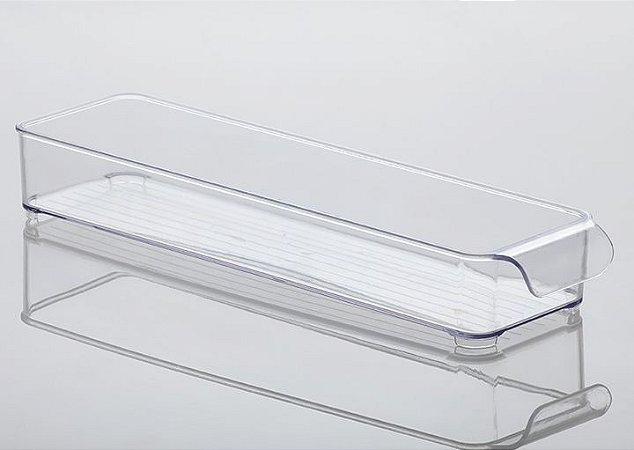 Organizador Gaveta Diamond 37,5x10,5x5,5cm Cristal