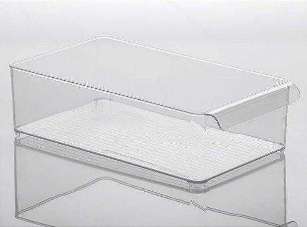 Organizador Gaveta Diamond 37,5x21x10,5cm Cristal